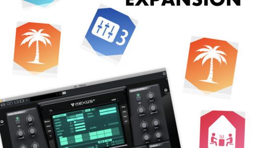 EDMを作るならおすすめしたいNexus2のEXPANSIONを紹介