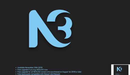 Nexus 3 レビュー 人気シンセNexusの最新版を早速使ってみた